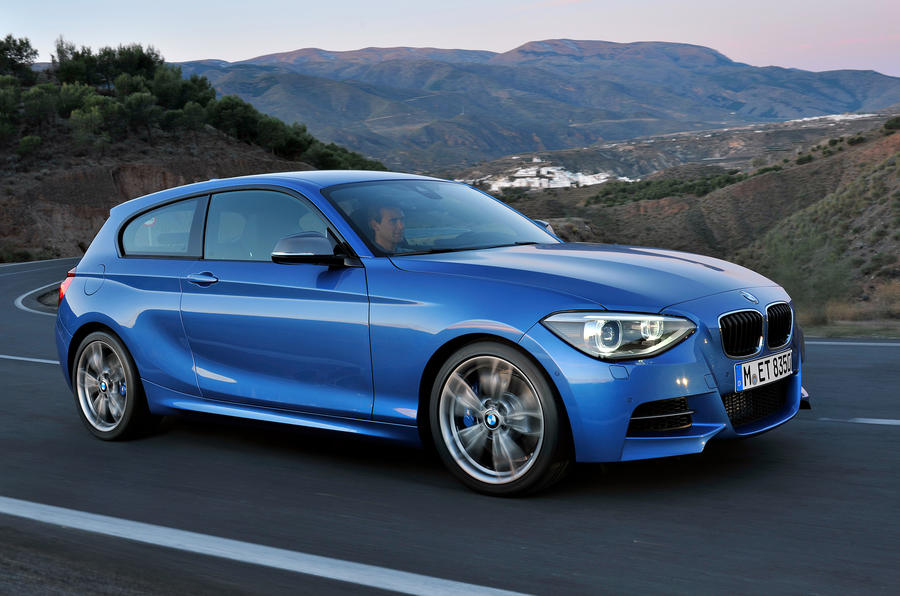 Three-door BMW 1-series uncovered