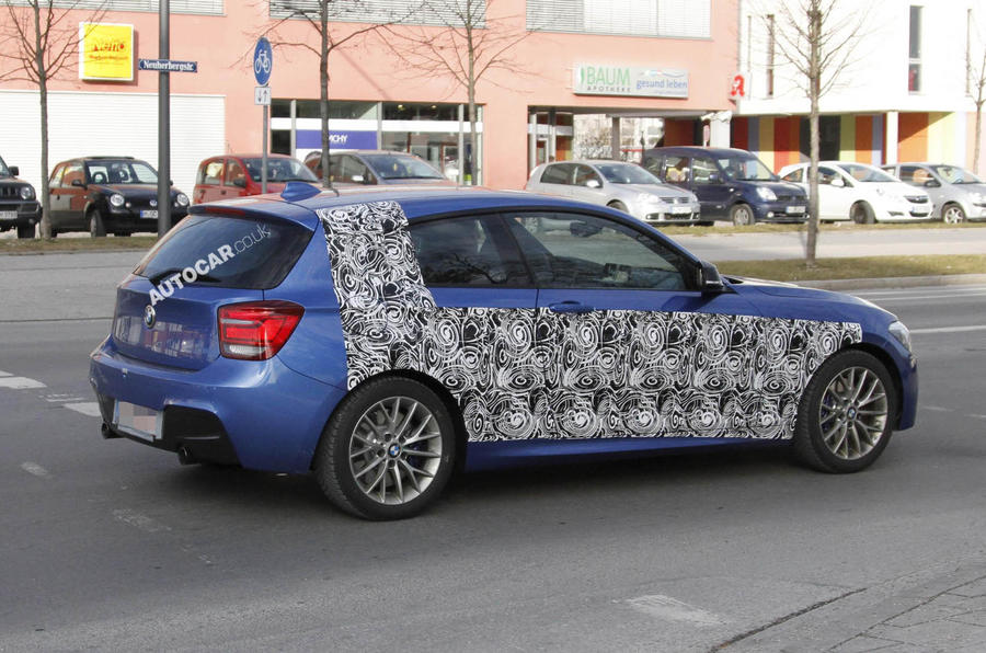 Hottest BMW 1-series spied