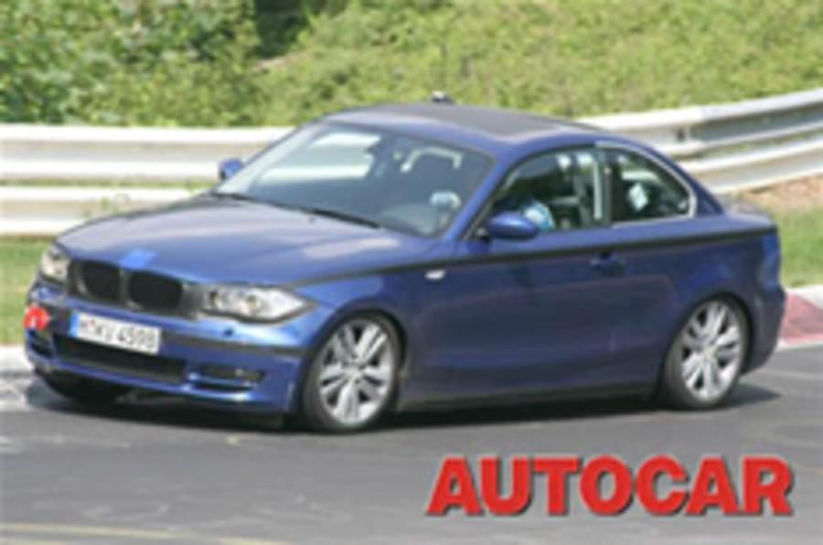 Spied: BMW's upmarket 1-series twins