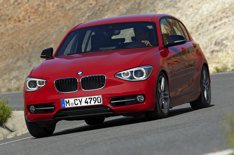 BMW's six 1-series variants