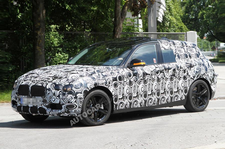 Next BMW 1-series: new pics