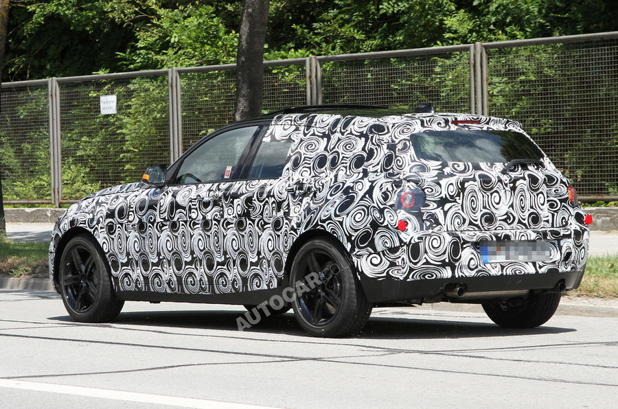 Next BMW 1-series: new pics