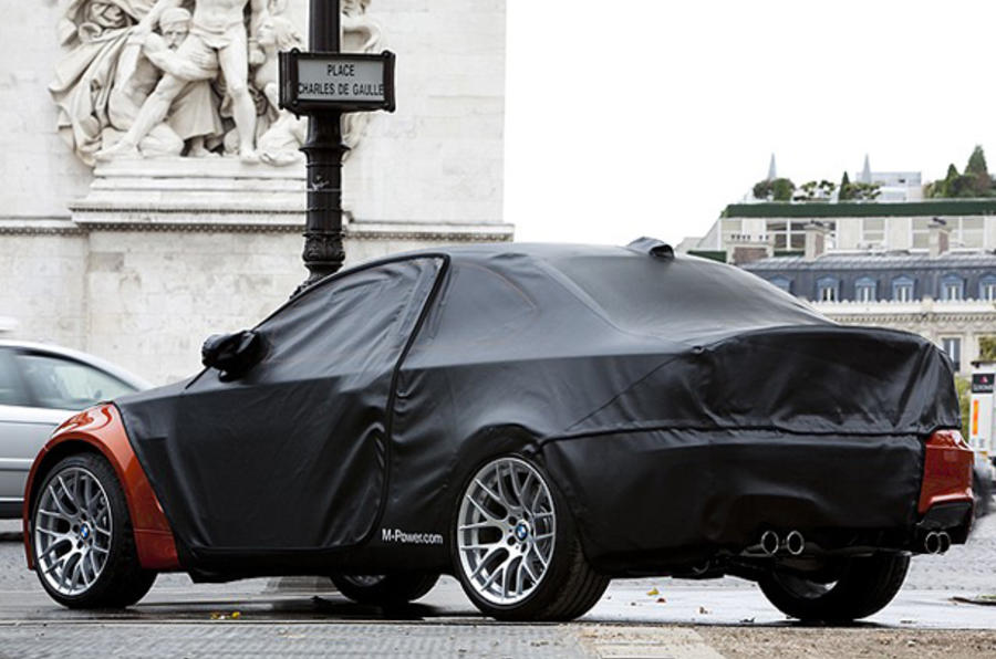 BMW teases 1-series M Coupe