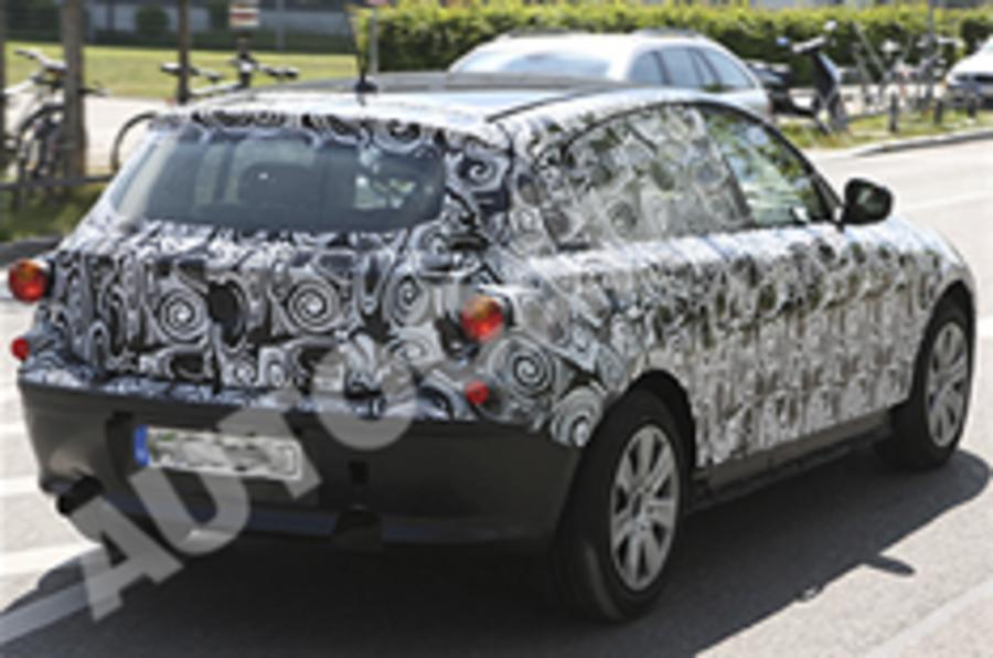 More pics: Next BMW 1 Series
