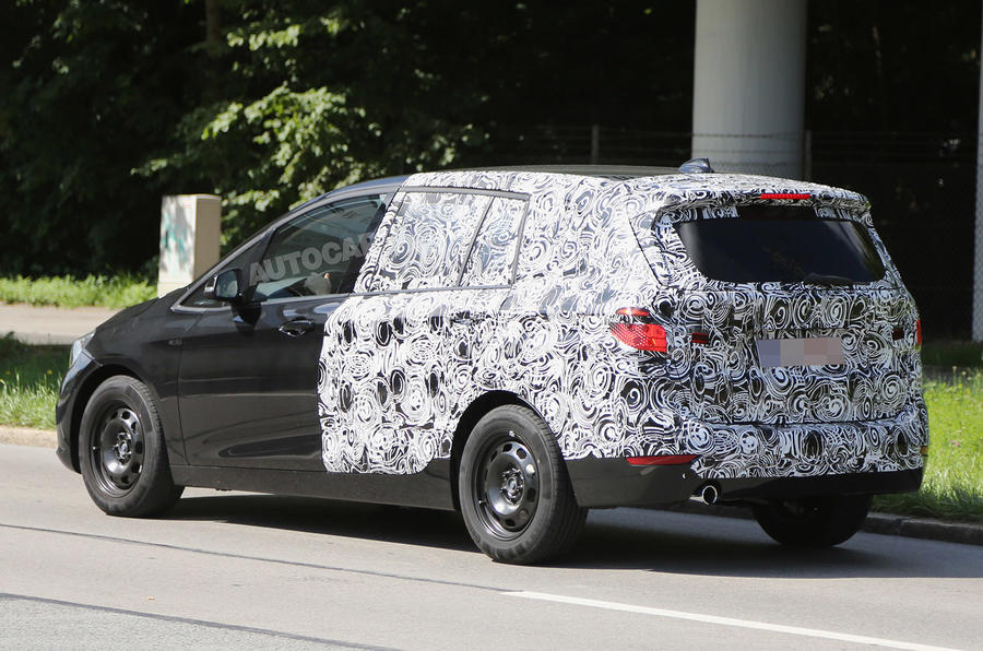 Seven Seat BMW 2 Series Active Tourer Due In 2015   Latest Pictures