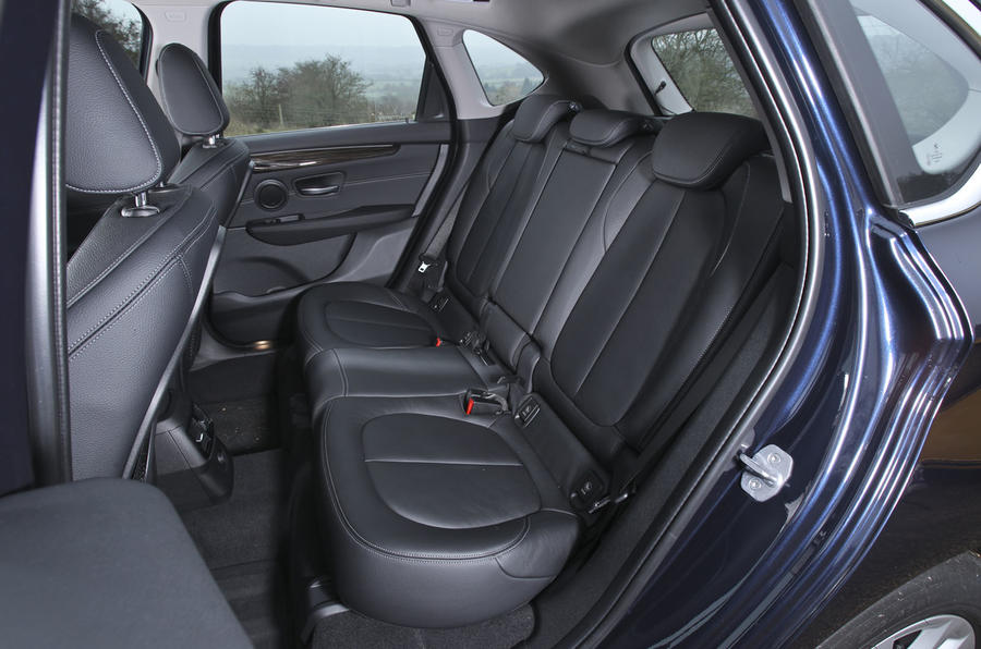 BMW 2 Series AT's rear seats