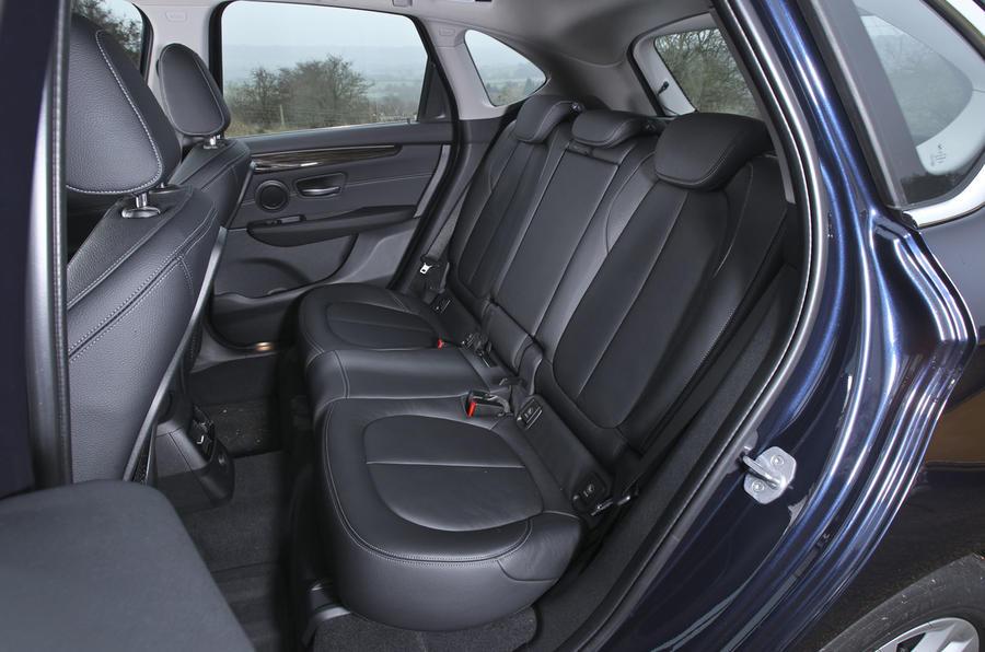 BMW 2 Series AT's rear seats