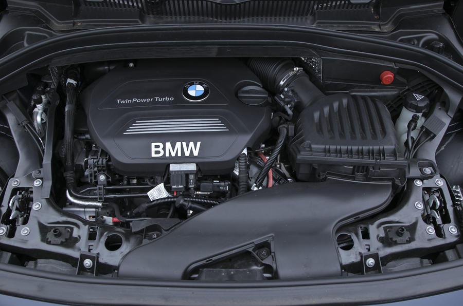 Hasil gambar untuk BMW 2 Series Active/Grand Tourer 2017 engine