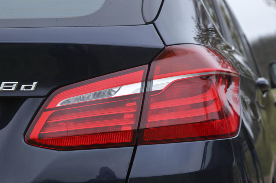 BMW 2 Series AT rear lights