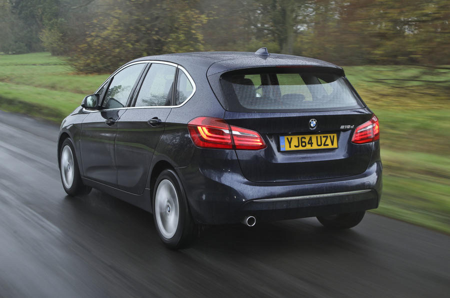 BMW 2 Series AT's rear