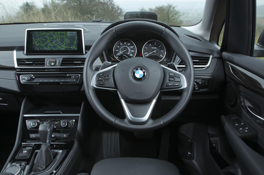 BMW 2 Series Active Tourer's interior