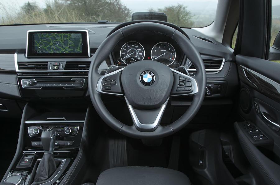 BMW 2 Series Active Tourer's interior
