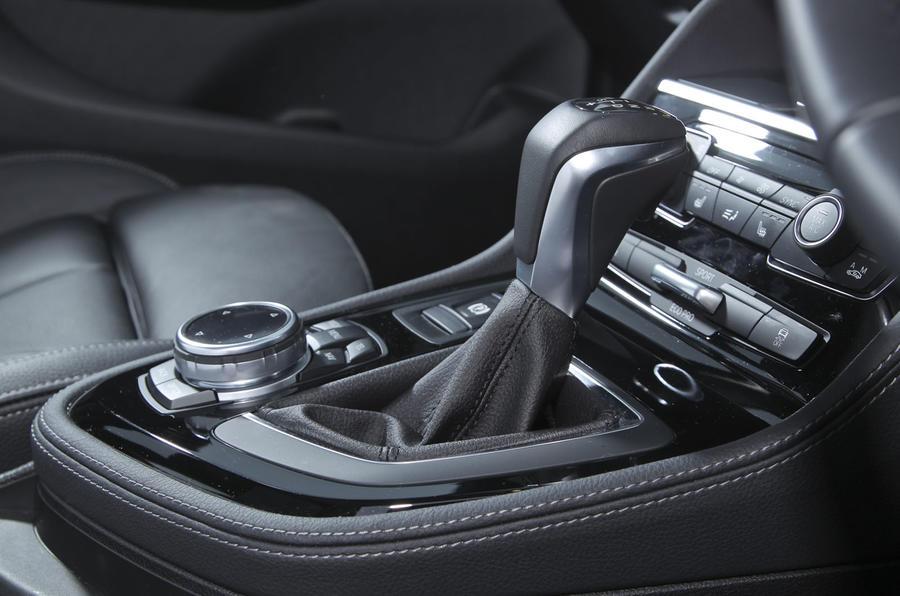 BMW's automatic gearstick