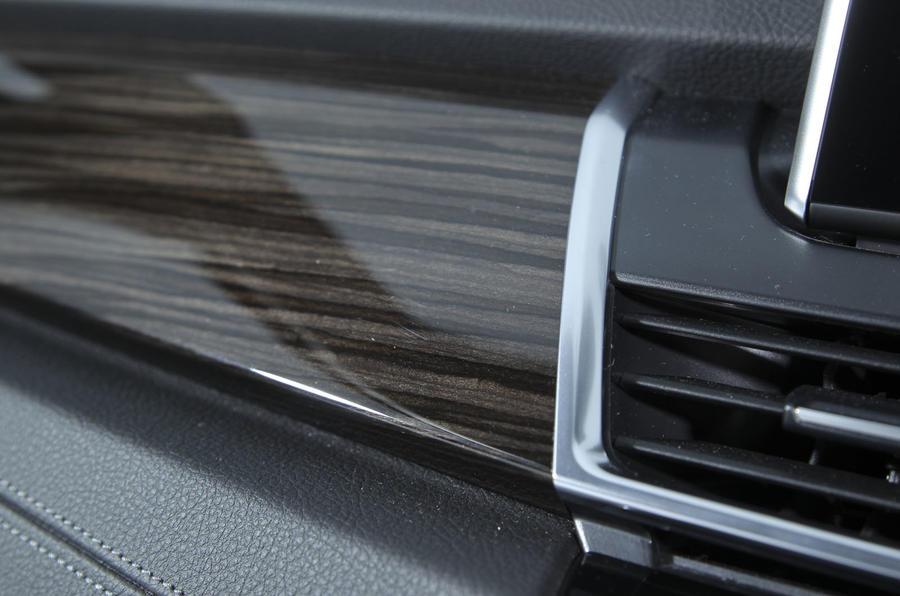 2 Series AT's wood trim
