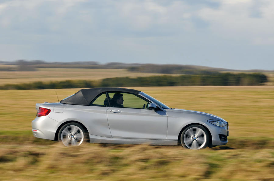 The BMW 2 Series Convertible