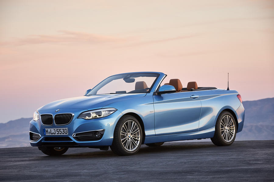 4 star BMW 2 Series Convertible
