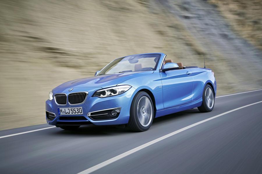 BMW 2 Series Convertible front quarter