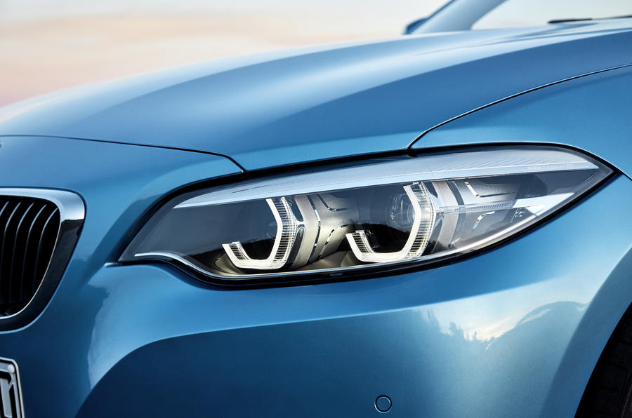 BMW 2 Series Convertible LED headlights