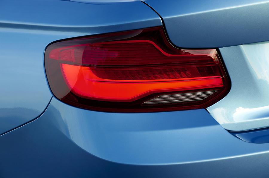 BMW 2 Series Convertible rear LED lights