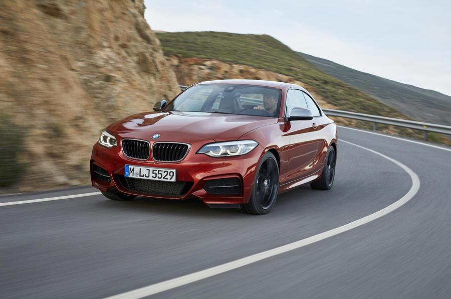 BMW 2 Series Coupé cornering