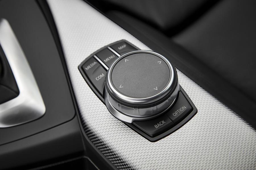 BMW 2 Series Coupé iDrive controller