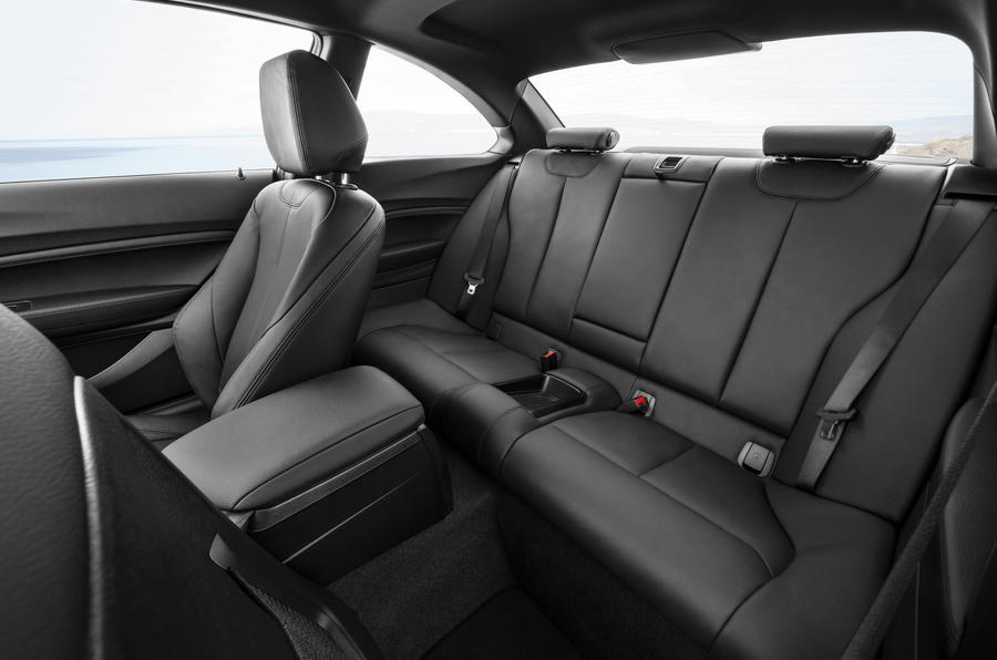 BMW 2 Series Coupé rear seats