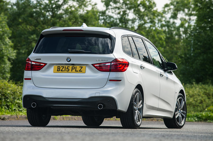 BMW 2 Series Gran Tourer rear
