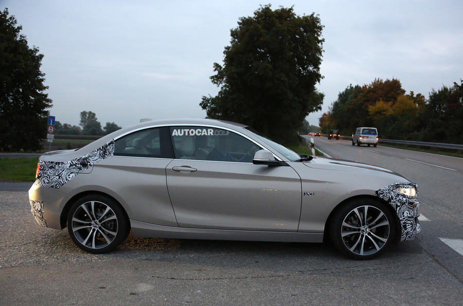 BMW 2-series spotted testing - plus spec details revealed