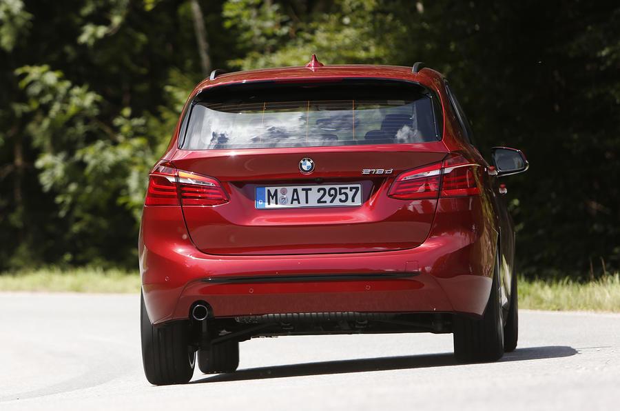 BMW 2-series Active Tourer 218d first drive review