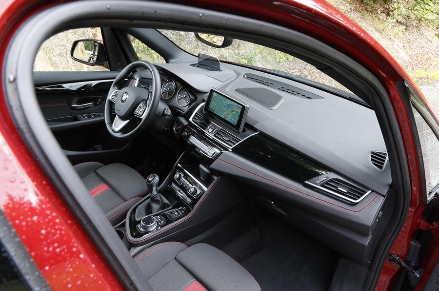 BMW 218d Active Tourer interior