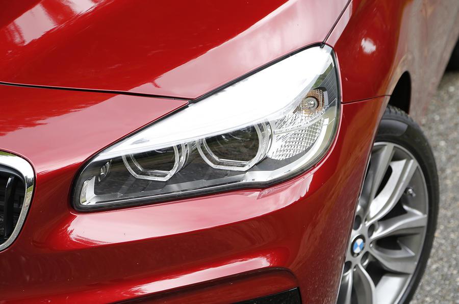BMW 2 Series Active Tourer headlights