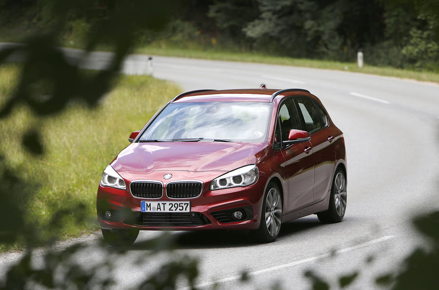 BMW 2-series Active Tourer 218d first drive review