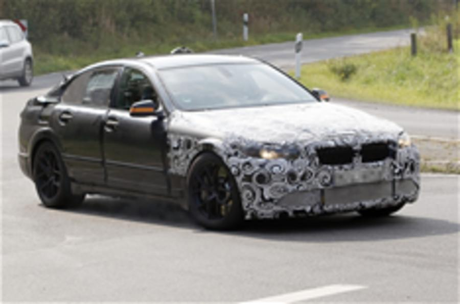 2011 BMW M5 spied