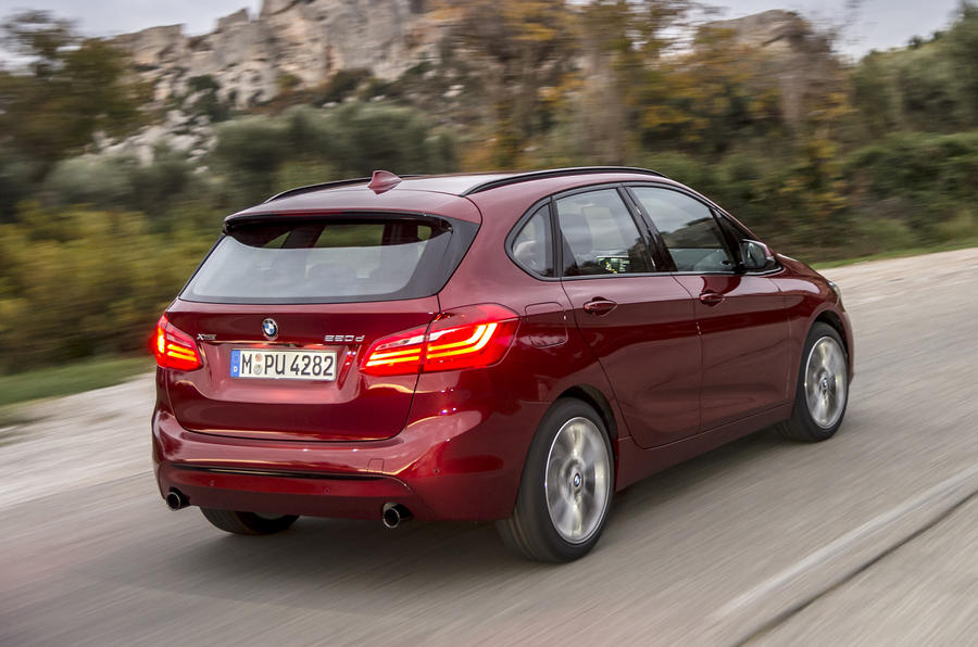 BMW 220d xDrive Active Tourer rear