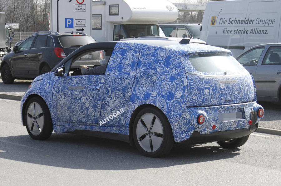 BMW i3 - latest spy pics