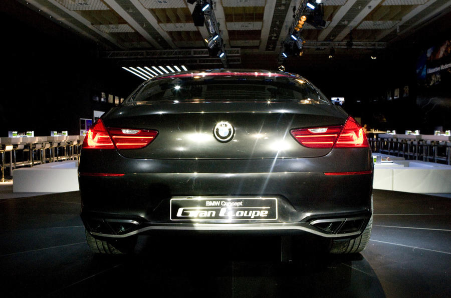 BMW Gran Coupe on video