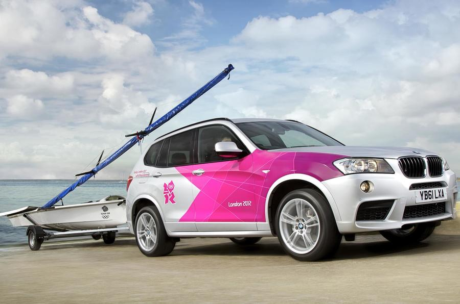 BMW's Olympic fleet revealed
