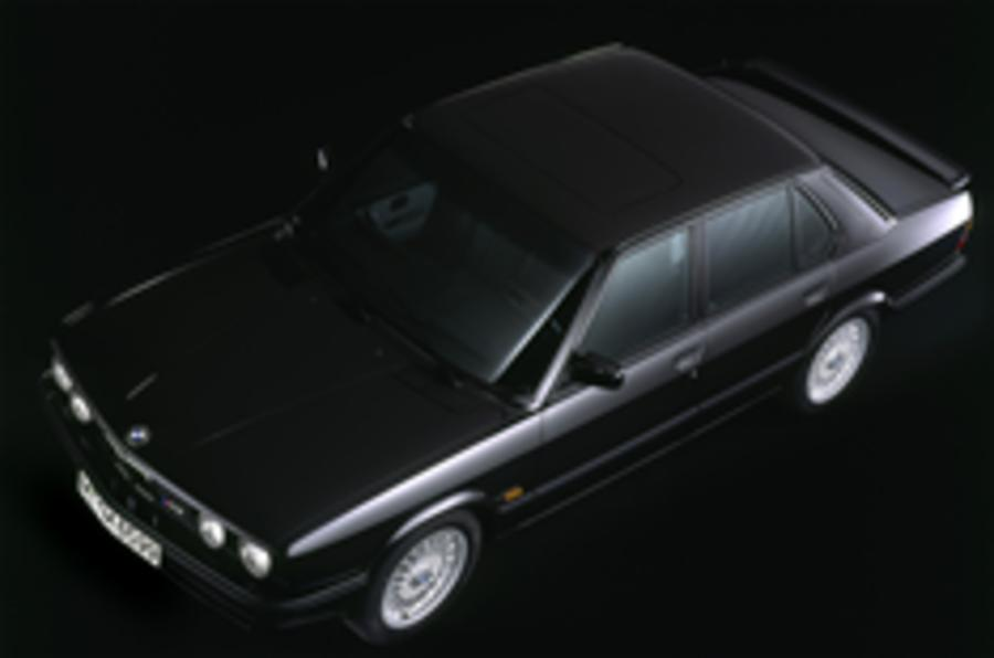 BMW M5 history in pics