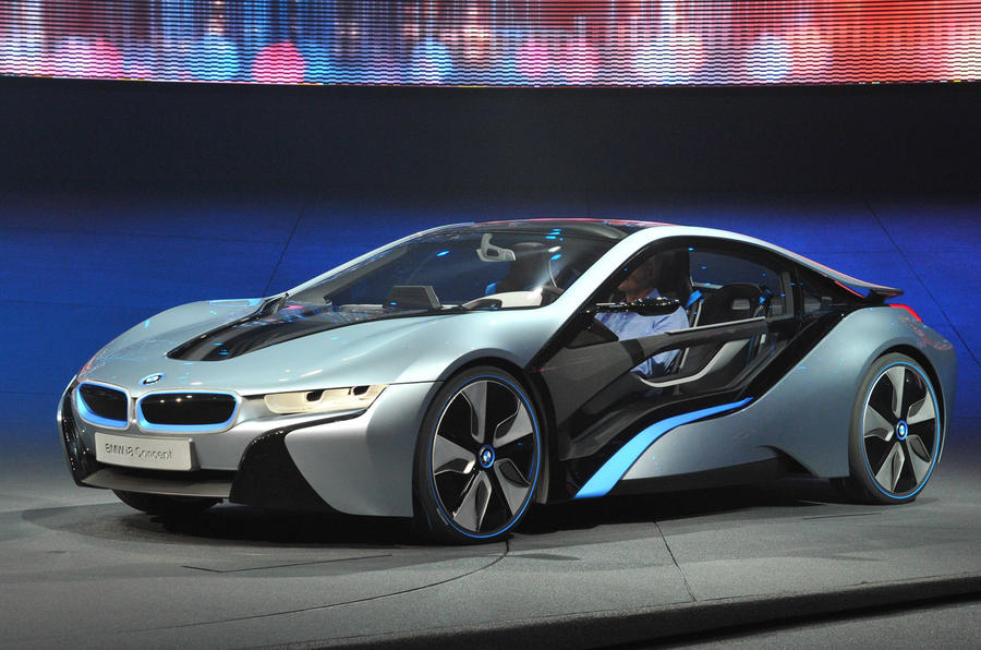 Frankfurt show: new BMW i8