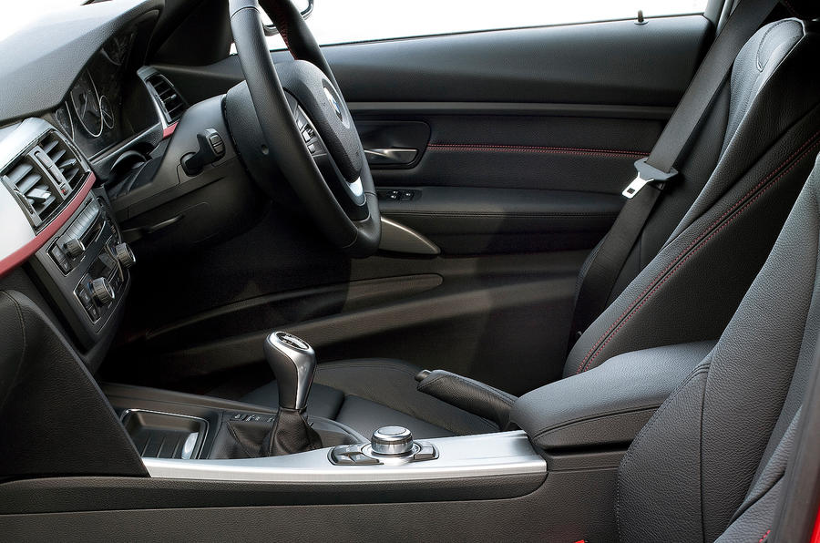 BMW 3 Series front seats