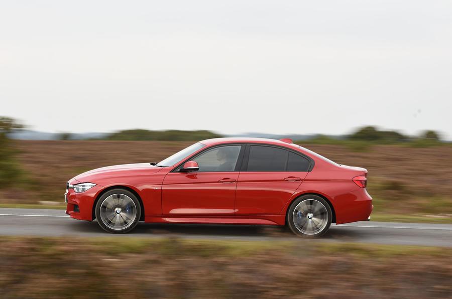 BMW 3 Series side profile