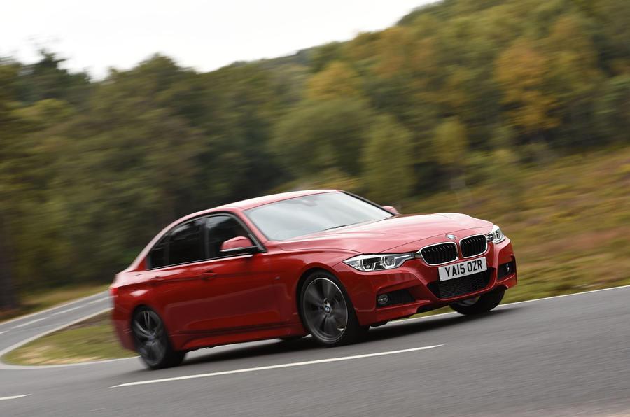 BMW 3 Series cornering