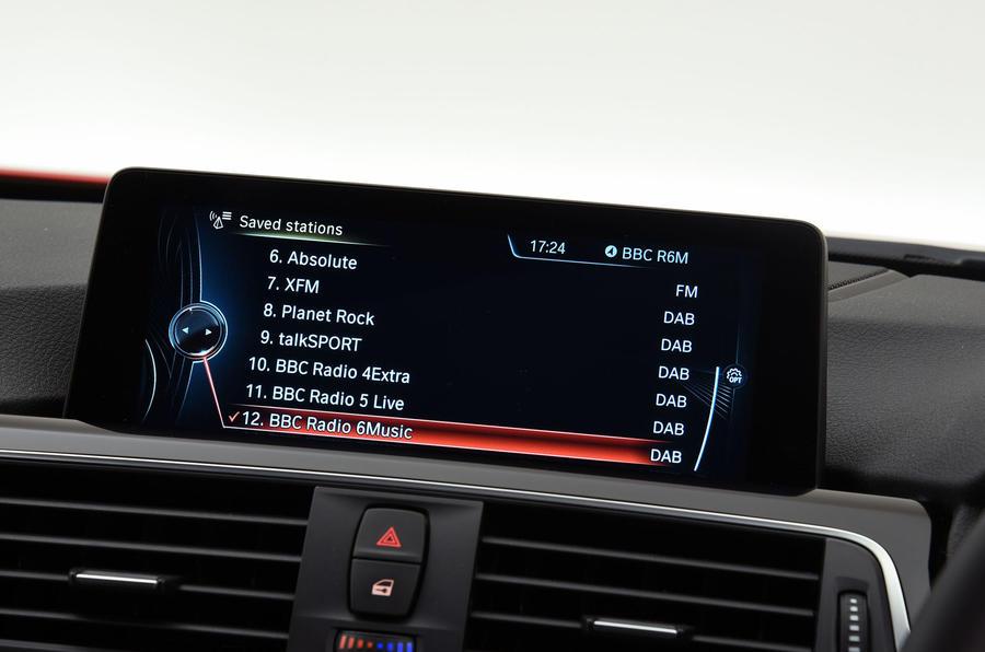 BMW 3 Series iDrive system