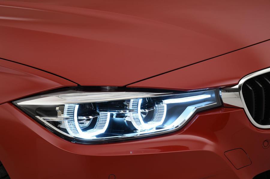 BMW 3 Series LED headlights