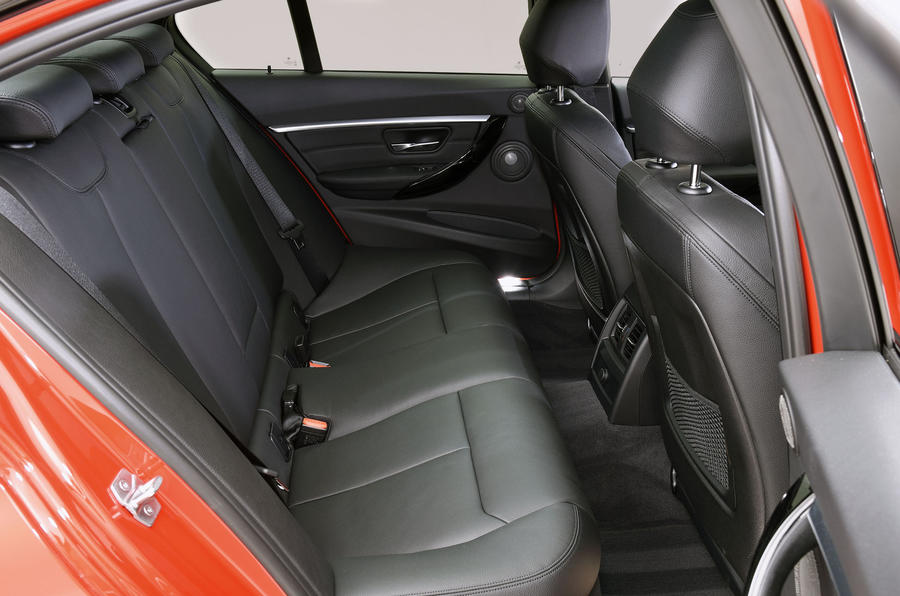BMW 3 Series Rear Seats