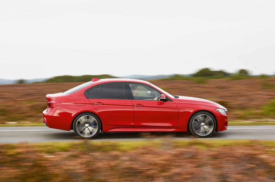 BMW 320d side profile
