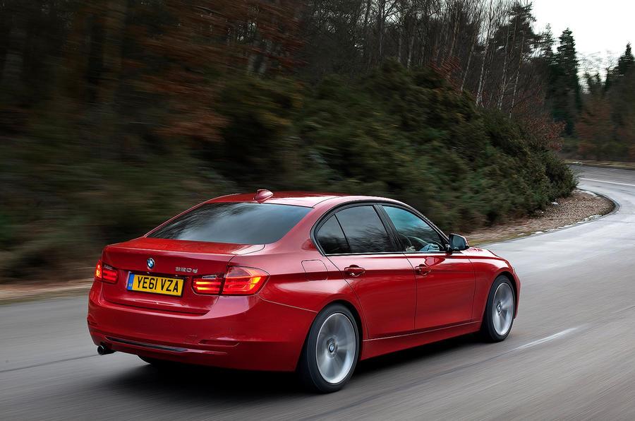 BMW 3 Series rear quarter
