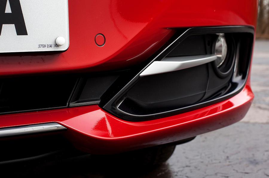 BMW 3 Series vertical intakes