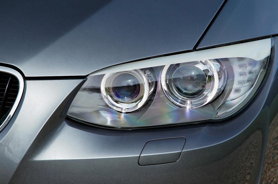 BMW 3 Series xenon lights