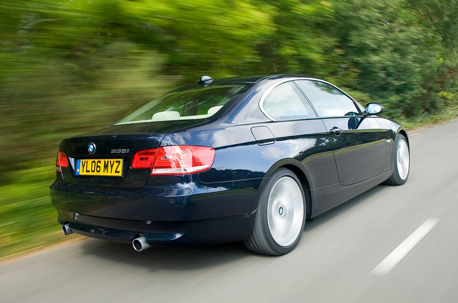 BMW 3 Series Coupé rear quarter